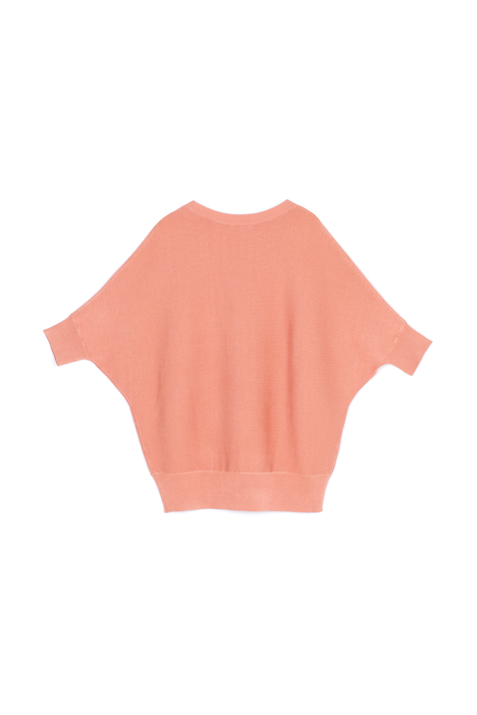 BATWING PULLOVER - APRICOT