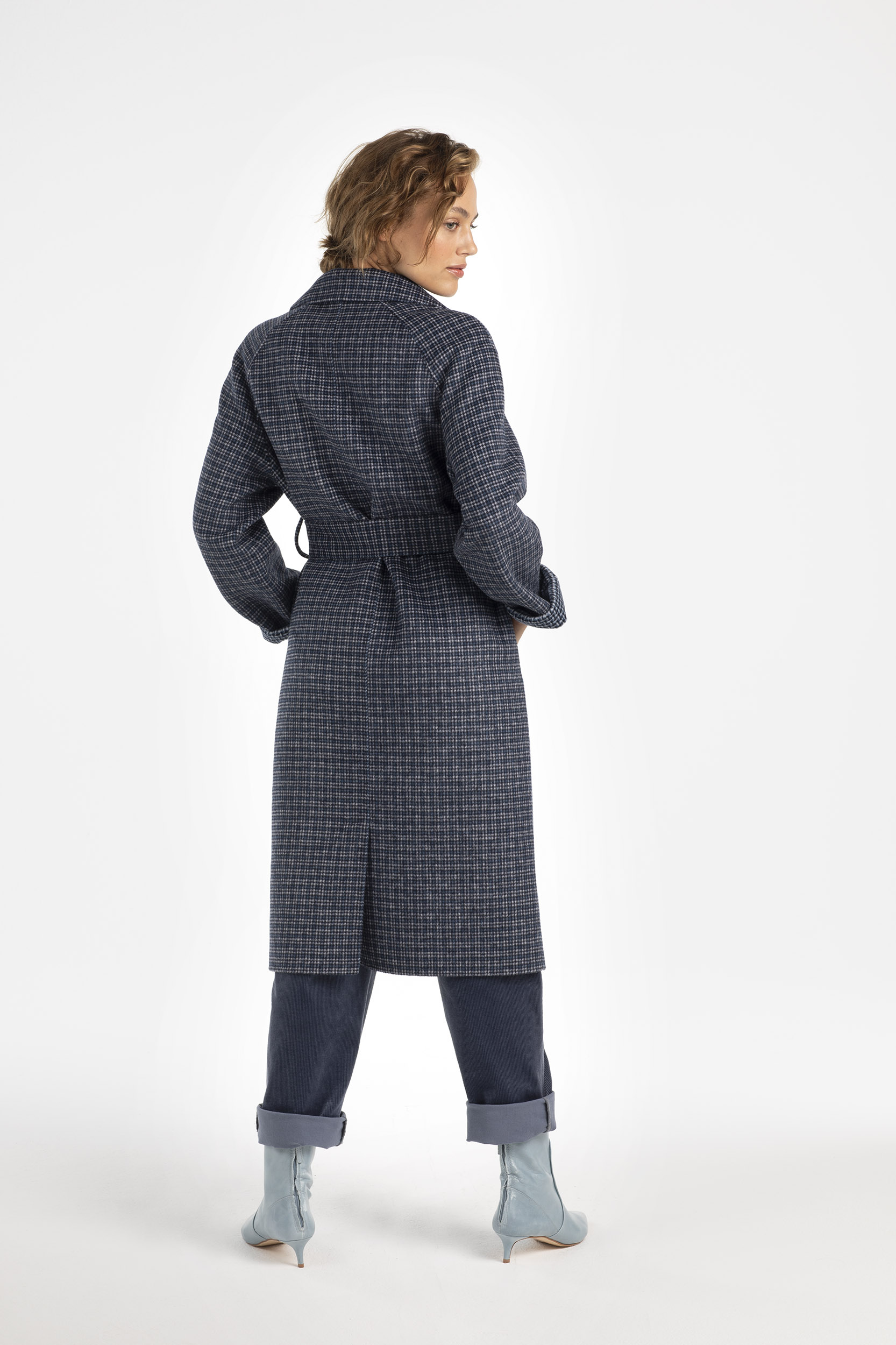 DOUBLE FACE TRENCHCOAT