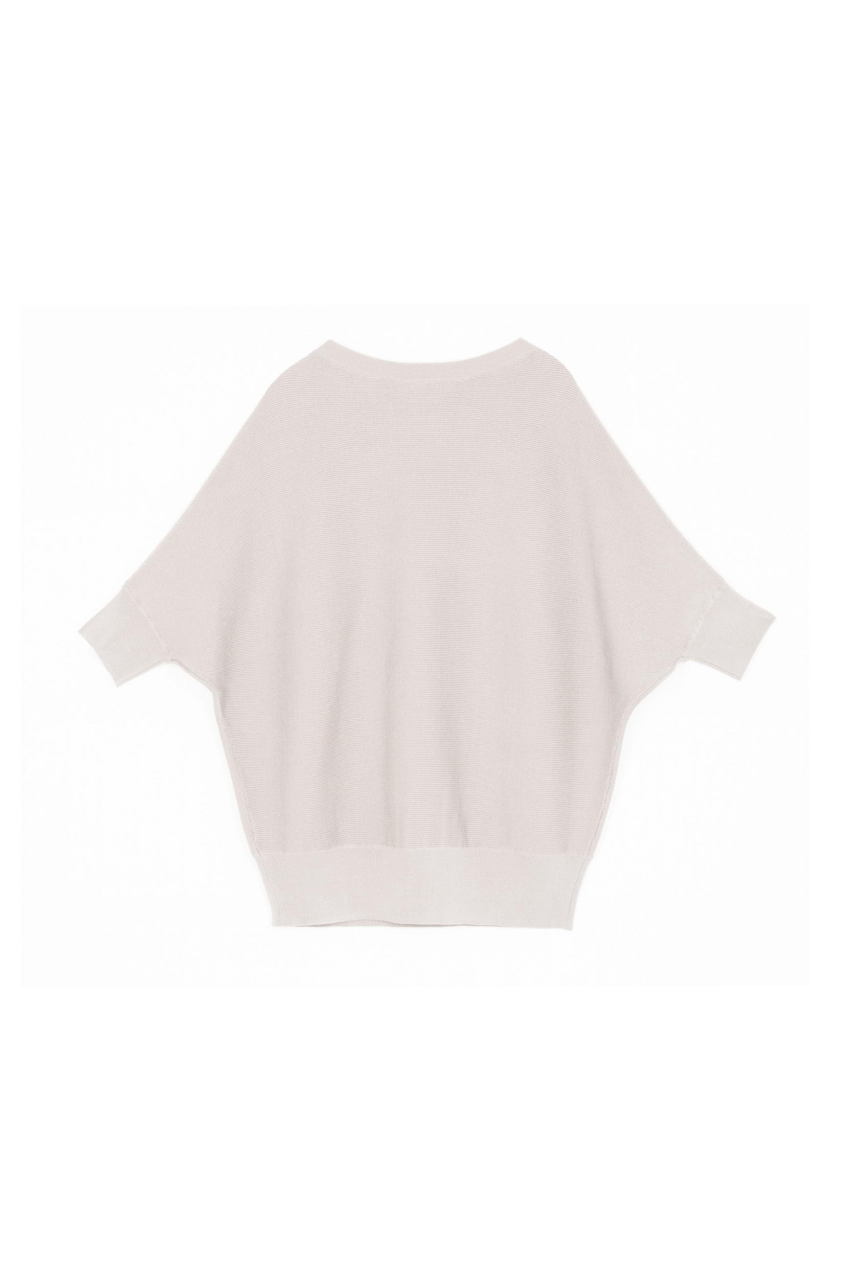 BATWING PULLOVER - OFF-WHITE